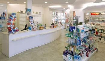 ARREDO FARMACIA Banco vendita bianco arredamento design - Riganelli Negozi