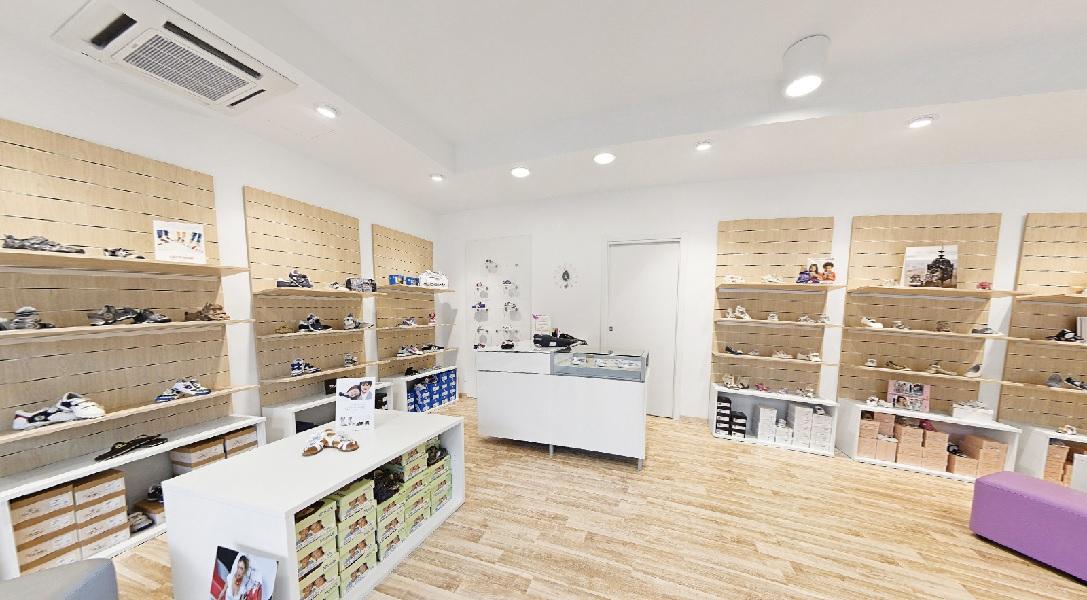 Arredamento negozio di scarpe - riganelli