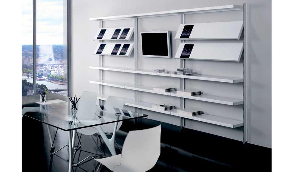 Big libreria di design con vano per tv