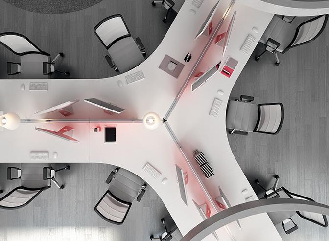 ENTITY-Tavolo-scrivania-con-front-panel-Riganelli-Uffici