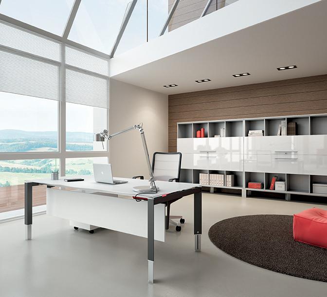ENTITY-Tavolo-scrivania-operativa-con-gamba-regolabile-in-altezza-Riganelli-Uffici