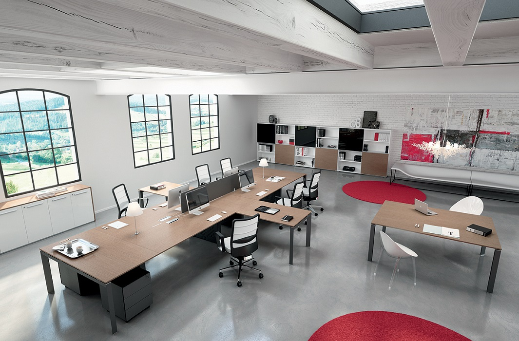 ENTITY-Workstation-in-open-space-Riganelli-Uffici