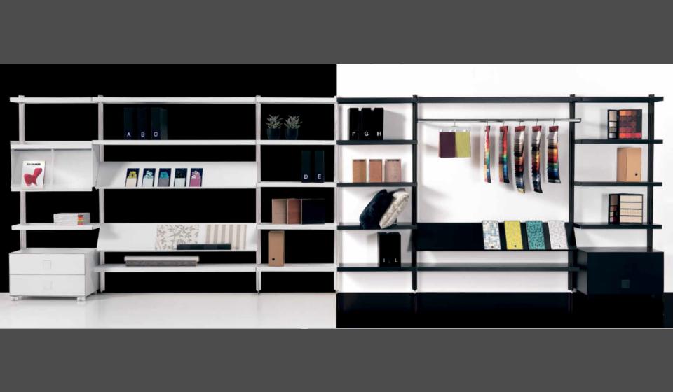 Libreria big con appenderia per negozio