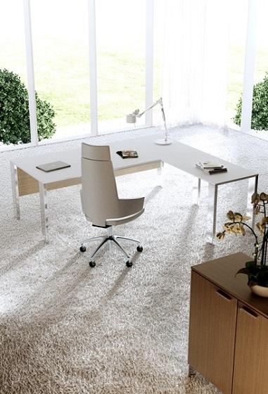 Minimax-scrivania-direzionale-struttura-cromata