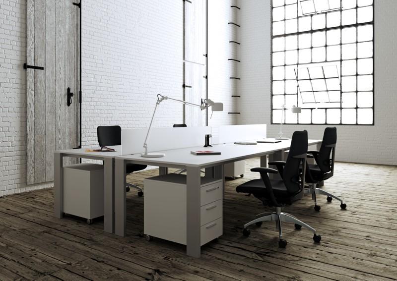 Minimax scrivania elegante per ufficio operativo