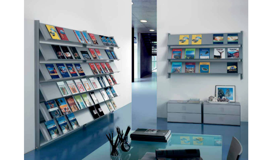 Scaffale libreria per libreria biblioteca