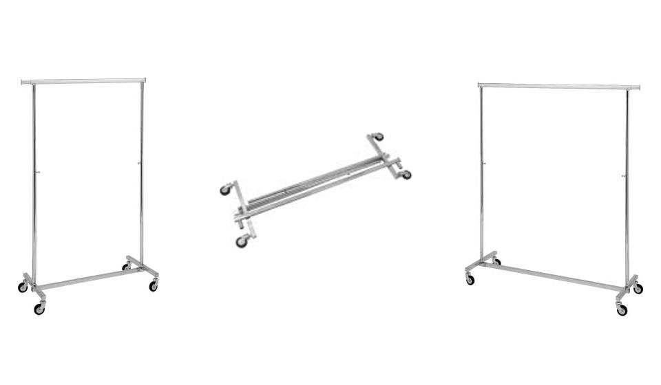Stender pieghevole regolabile in altezza e larghezza