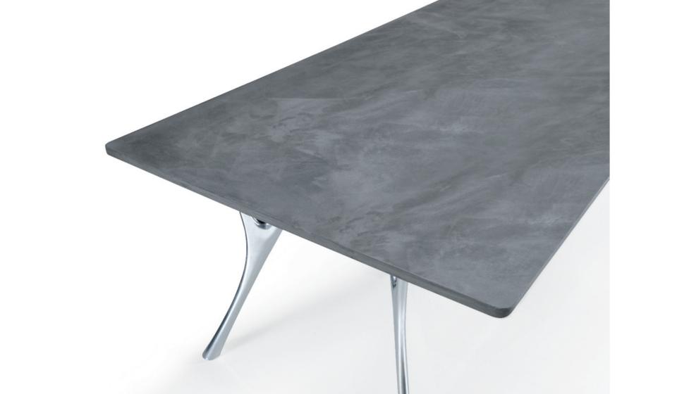 Tavolo piano in cemento - riganelli