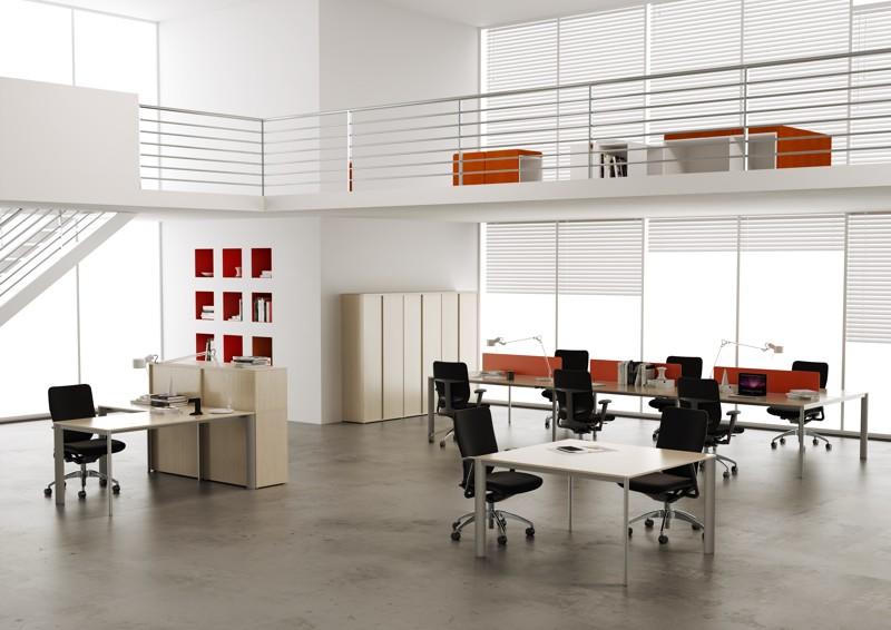 Ufficio operativo Online3 con tavolo riunione