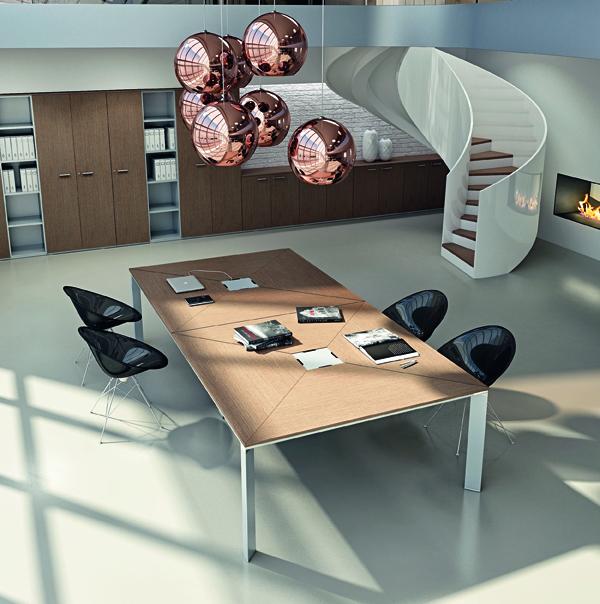 VERTIGO-Tavolo-riunione-top-access-centrale-Riganelli-Arredamenti