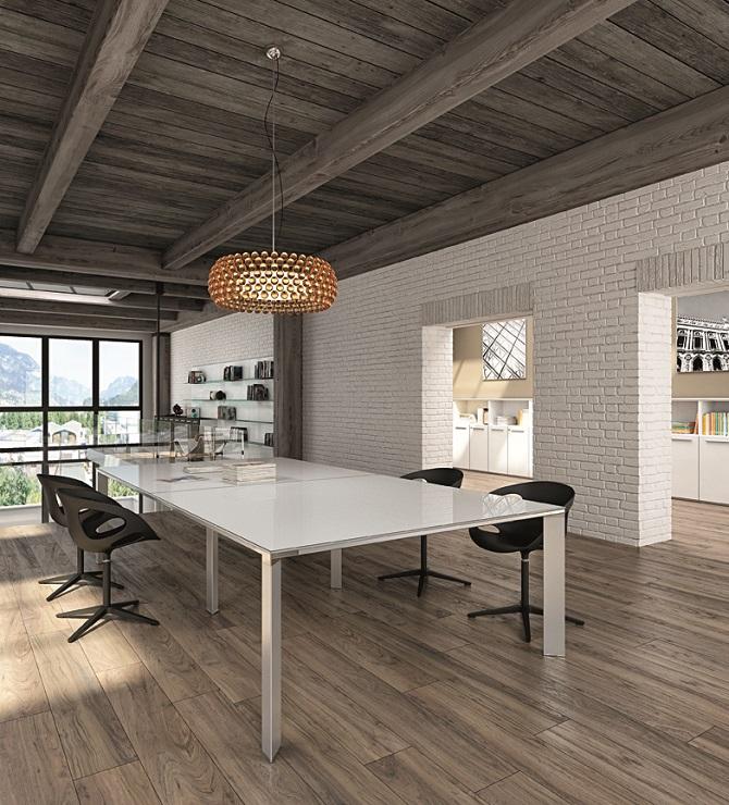 VERTIGO-Tavolo-riunioni-piano-in-vetro-retrolaccato-bianco-Riganelli-Arredamenti