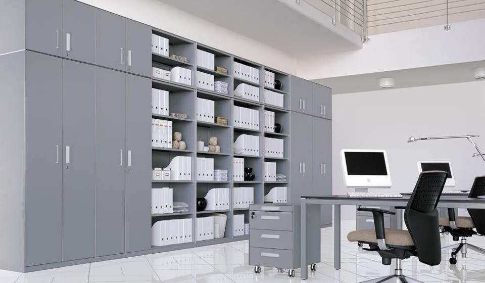 armadi e librerie in metallo per archivio ufficio - riganelli