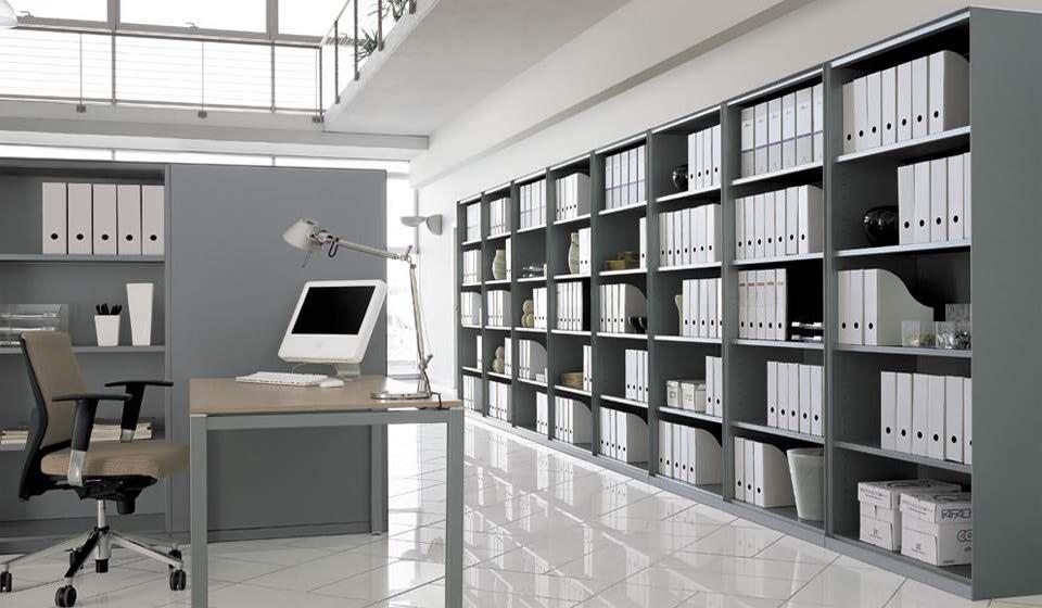 armadi e librerie metallici per archivio - riganelli