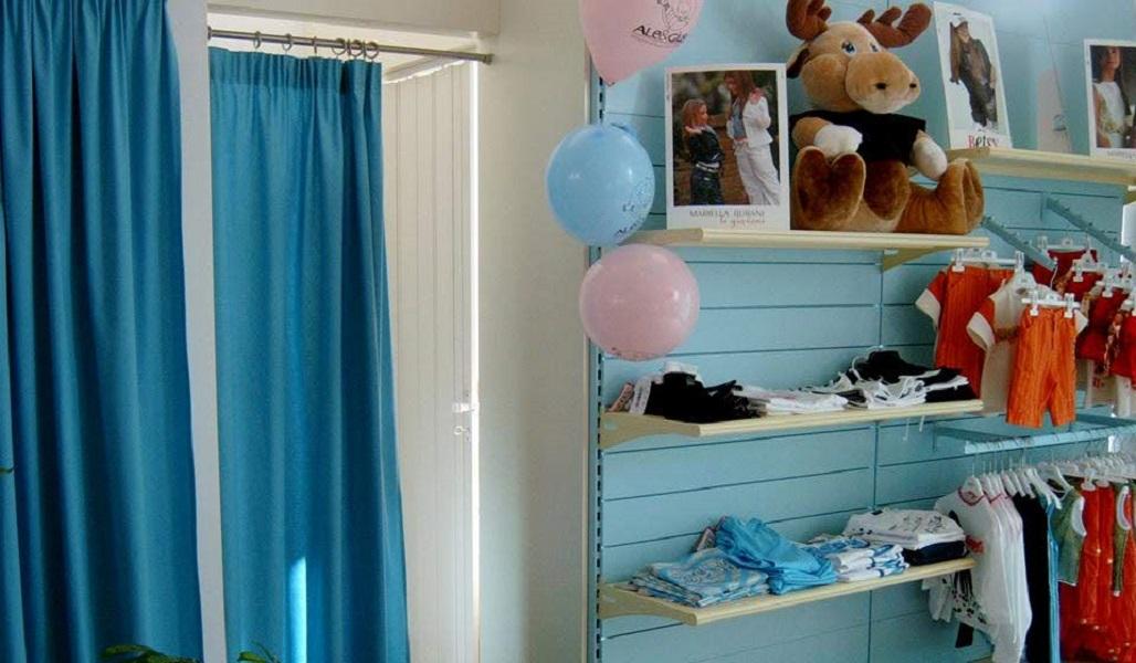 arredamento negozio per bambini - riganelli
