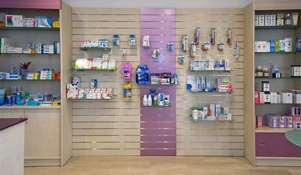 Mobili per farmacie design casa creativa e mobili ispiratori for Arredo farmacia usato