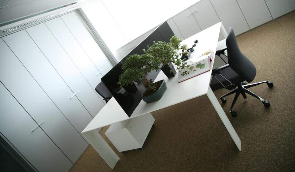 dodici tavolo scrivania multipostazione - riganelli