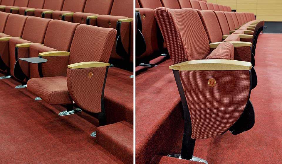 Infinity sedute imbottite con sedile richiudibile - riganelli