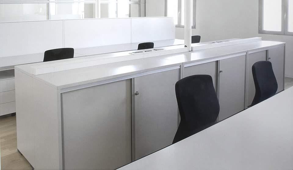 mobili ufficio per archivio ekliss - riganelli