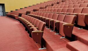 Infinity poltrone richiudibili per cinema e teatro - riganelli