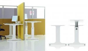 OP scrivania regolabile in altezza - riganelli