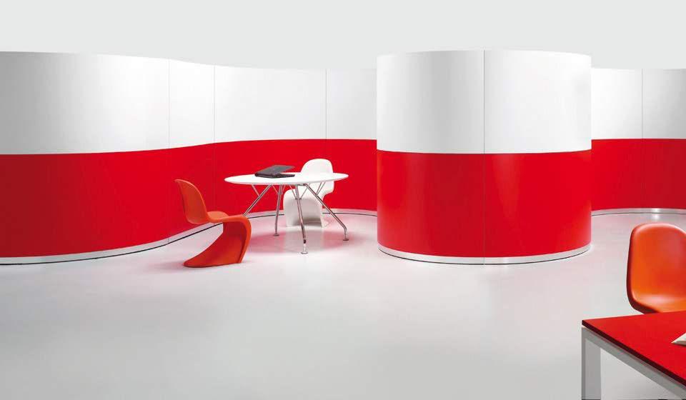 bengentile libreria modulare di design rotondo - riganelli