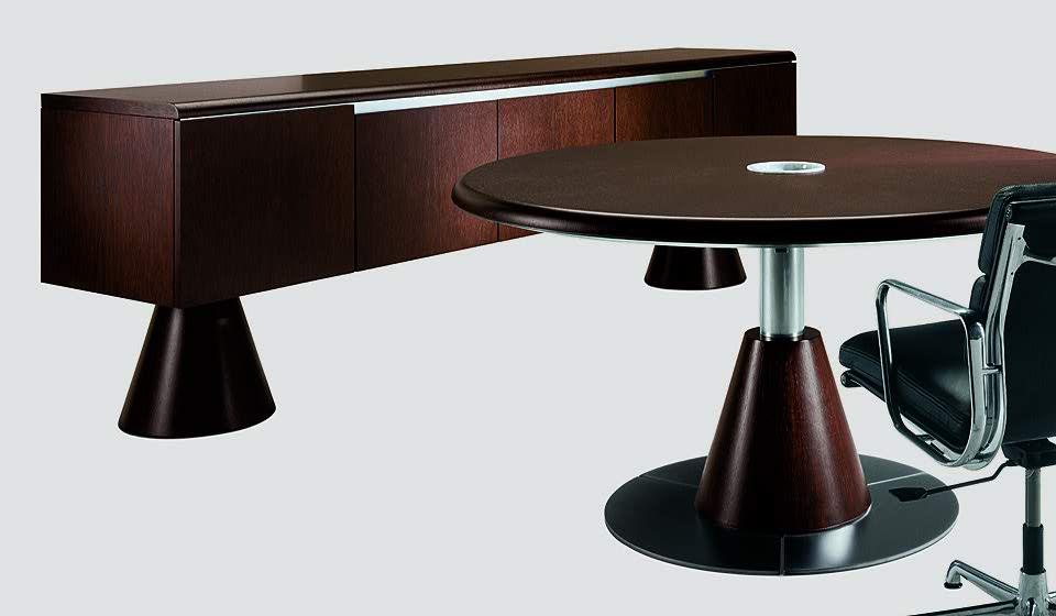 mobili e tavolo rotondo ufficio 16gradi - riganelli