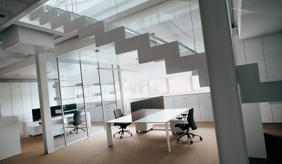 tavoli scrivanie per ufficio operativo openspace dodici - riganelli