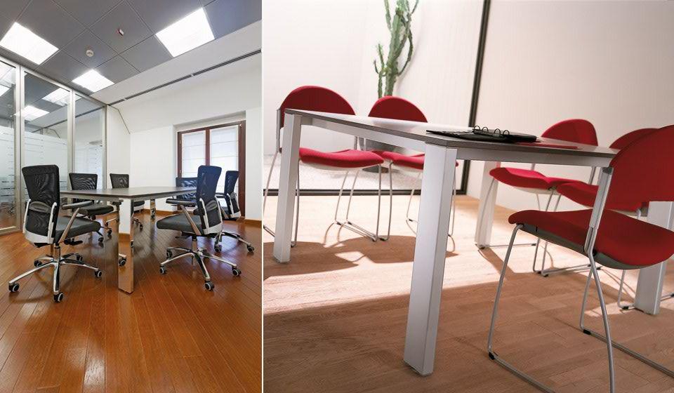 minimax arredo sala riunione tavolo e sedie - riganelli