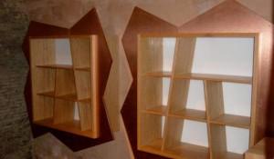 realizzazione mobili da parete per enoteca - riganelli