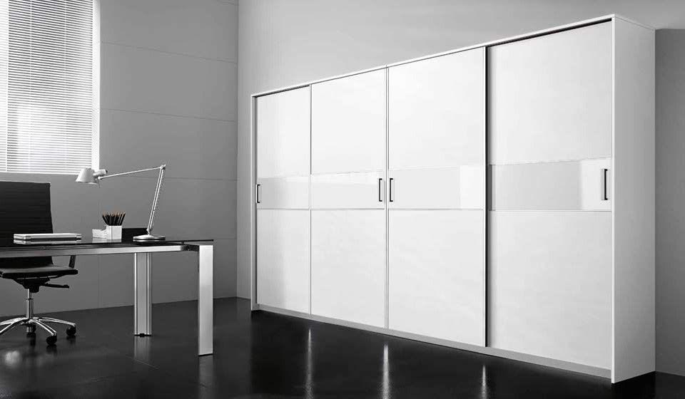 armadi ad anta scorrevole per archiviazione - riganelli uffici