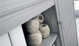 mobili archivio con saracinesca in metallo - riganelli