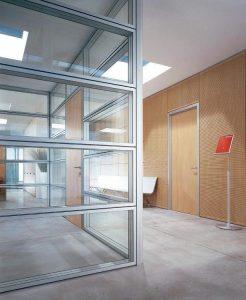 pareti divisorie in vetro personalizzabili - riganelli