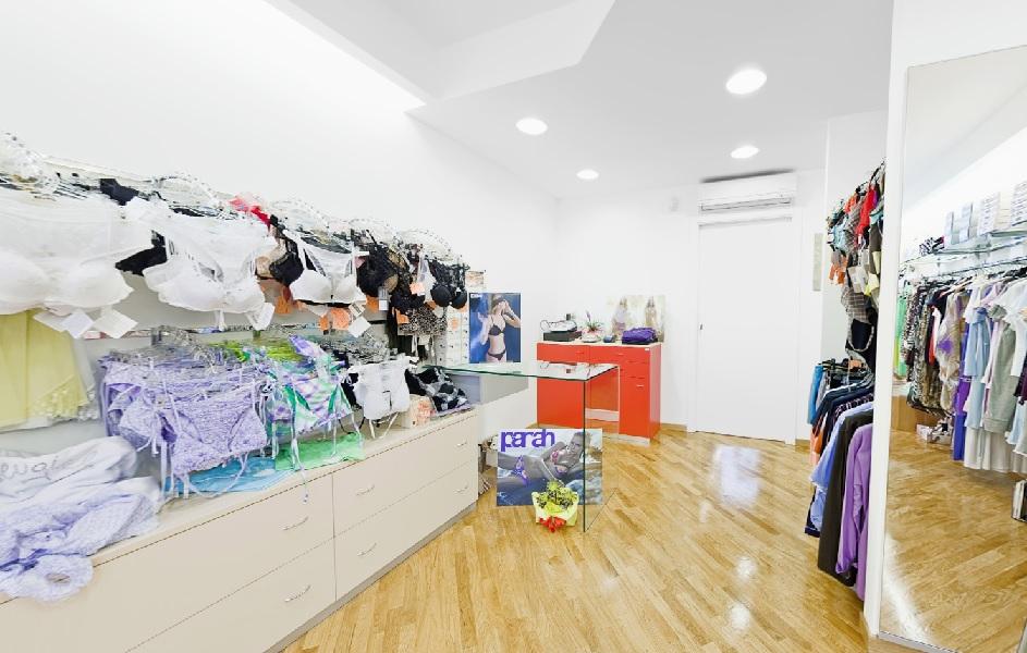 realizzazione arredamento negozio di intimo - riganelli