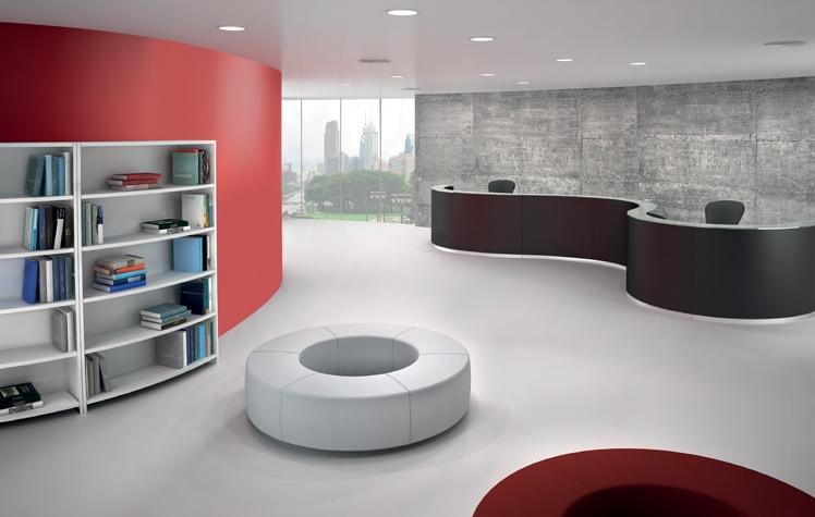 reception bengentile e libreria-riganelli uffici