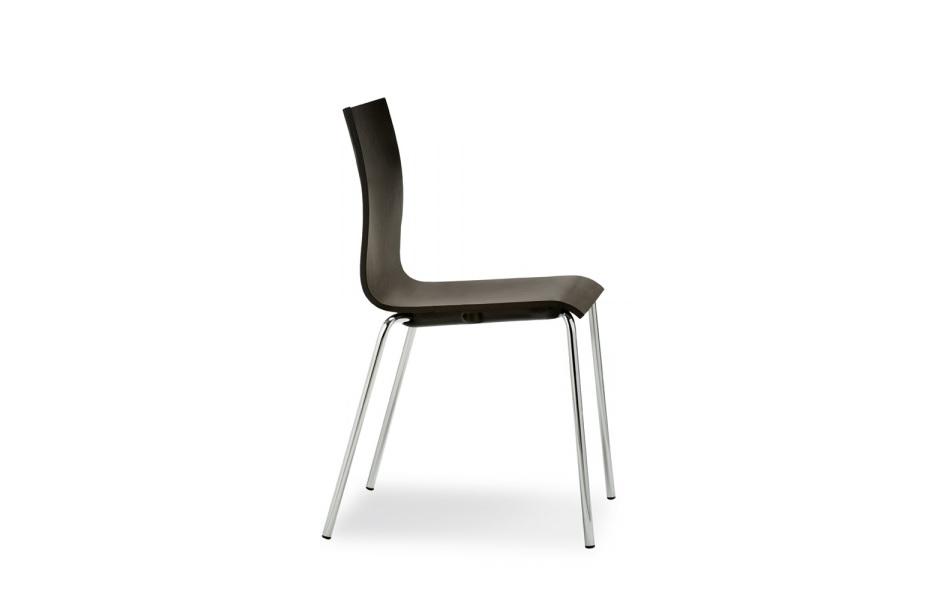 wood sedia impilabile per sala conferenze e auditorium - riganelli
