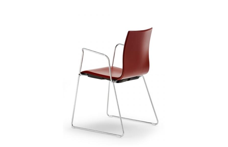 wood sedia sala conferenze ricevimento ospiti sala riunione attesa ufficio - riganelli
