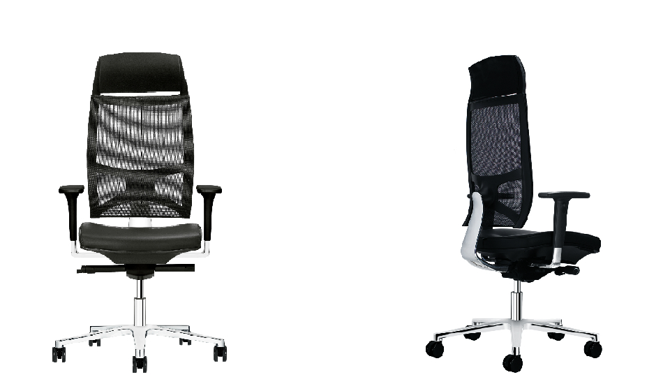 Flash Air sedia direzionale schienale a rete