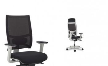 Fresh air poltrona per ufficio direzionale manageriale comfort ergonomicità - Riganelli Arredamenti