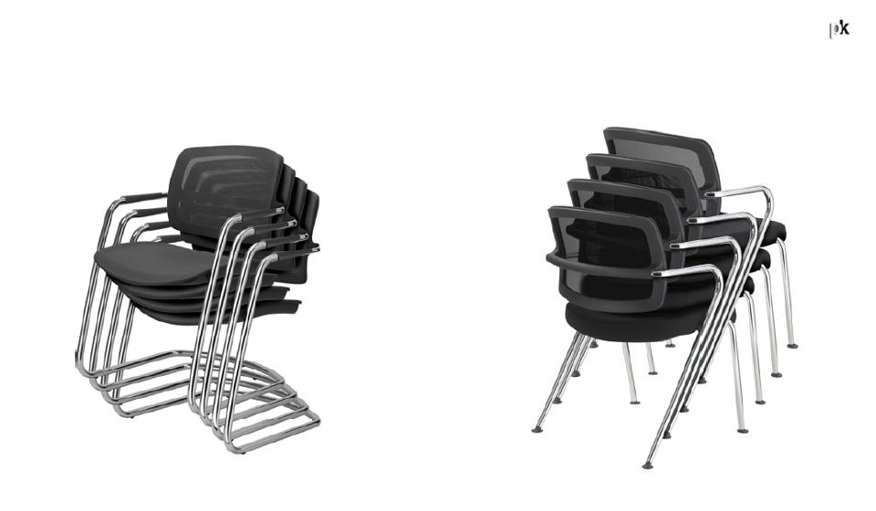 Pk Sitland sedia per sale riunione impilabili