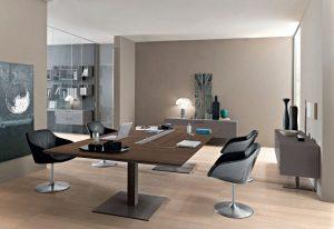 Anyware tavolo riunione design - riganelli