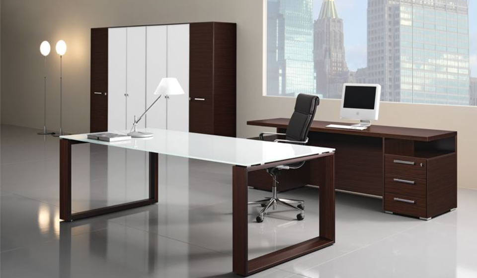 Scrivania Ufficio Ovvio : Ufficio direzionale arche scrivania manageriale design riganelli