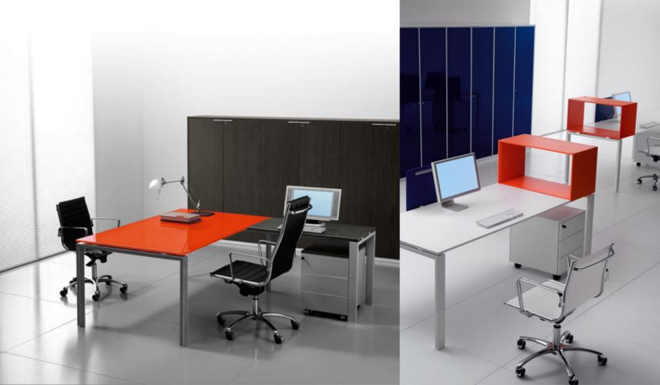 Glider Bralco scrivania operativa colorata