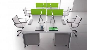 Glider Bralco scrivania operativa multipostazione