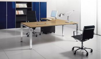 Glider Bralco scrivania operativa struttura in metallo
