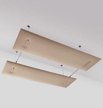 Mitesco pannelli fonoassorbenti snowsound a soffitto