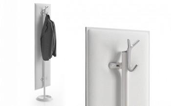 Mitesco pannello fonoassorbente supporto appendiabiti design - Riganelli Arredamenti