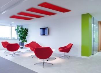 mitesco pannelli fonoassorbenti a soffitto