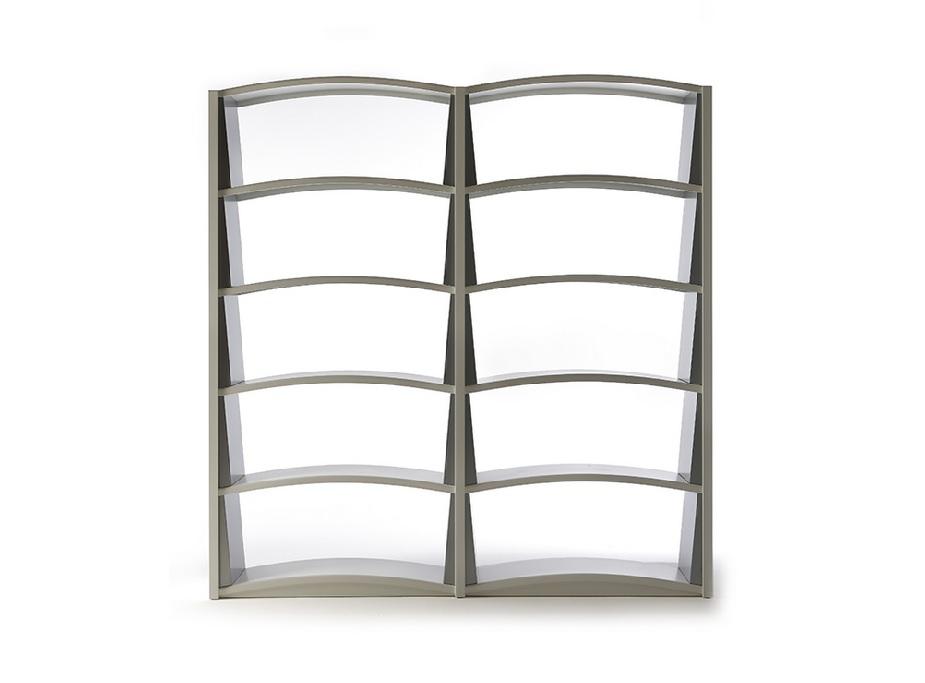 Chiave di volta libreria di design in metallo - riganelli