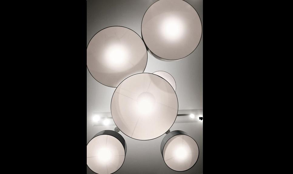 Circle lampada soffitto design ufficio casa - Riganelli Arredamenti