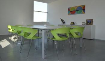 realizzazione sala riunione uffici - riganelli